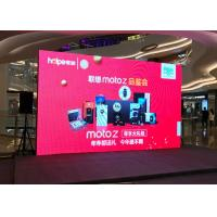 Buy cheap P3.9mm High Resolution Rent Led Video Wall / Indoor Led Display Signs AC110-220V from wholesalers