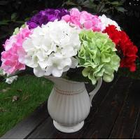 Buy cheap UVG Factory Price Silk Flower Wedding Bouquet Wholesale Artificial Hydrangea Flowers from wholesalers