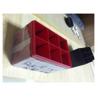 Buy cheap High Polish Injection Molding Services For Blue And Red Color Lead Acid Battery Housing from wholesalers