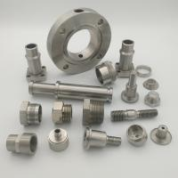Buy cheap Reliable CNC Lathe Machining Parts Customized Surface Treatment from wholesalers