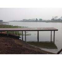 Buy cheap WPC Construction Wood Plastic Composite Decking for Pool Area Dock and Villa from wholesalers