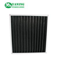 Buy cheap Eradicate Odor Synthetic Fiber Filter , Mini - Pleat Activated Carbon Filters product