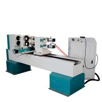Buy cheap CAMEL CNC manufacturer automatic chair legs stair railing cnc wood turning lathe with double axes CA-1516 from wholesalers