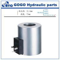 Buy cheap Vickers hydraulic solenoid valve coil DG4V-3 for concrete pump , Z8-120YC product