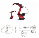 Buy cheap 6 AXIS TIG / MIG / Pinch Welder Industrial Welding Robot arm from wholesalers