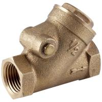 Buy cheap Brass Y type Swing Check Valve NPT BSPT Female from wholesalers