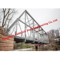 Buy cheap Multi Span Single Lane Steel Box Girder Bailey Bridges Structural Formwork Truss Construction from wholesalers