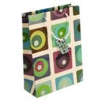 Buy cheap Handmade color gift bag , Personalized Paper Gift Bags with pantone color  for shopping from wholesalers