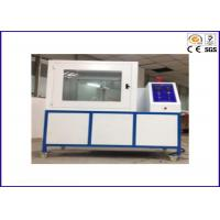Buy cheap PLC Module Flammability Testing Equipment For Thermal Insulation Materials ISO 8142 from wholesalers