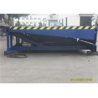 Buy cheap Stationary Hydraulic Loading Dock Equipment , Blue Warehouse Dock Levelers from wholesalers
