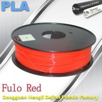 Buy cheap 1.75 / 3mm Fluorescent Filament   PLA Fluo filament  bright color filament product