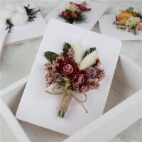 Buy cheap Handmade Beautiful Dried Flowers Greeting Cards For Home / Wedding Decoration from wholesalers
