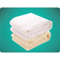 Buy cheap Square Shape Baby Care Cotton Products Baby Bath Towel 6 layers gauze from wholesalers