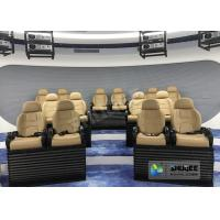 Buy cheap Attractive 5D Mobile Movie Theater Fiber Glasses Structure 3.75 KW 380V product