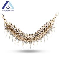 Buy cheap Double Row Fashion Alloy Necklace Jewelry Yiwu Ethnic Mix and Match Charming BNC3225 from wholesalers