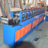 Buy cheap Chain Drive Light Steel Keel Omega Purlin Roll Forming Machine For Ceiling Framing System Line Speed 10-15m/min from wholesalers