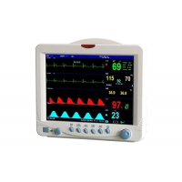Buy cheap Digital Vital Signs Monitor Patient Care Monitor Hospital Patient Monitoring Equipment With 5 Para Patient Monitor from wholesalers