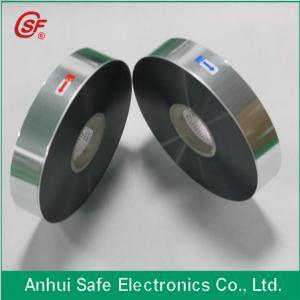 Buy cheap 3~12um Aluminum Zinc alloy mpp film  for capacitor use product