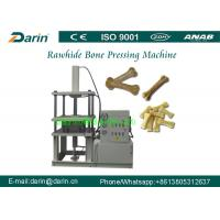 Buy cheap Stainless steel Natural Rawhide Bone Dog food maker machine / Punching Machine from wholesalers