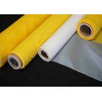 Buy cheap Plain Weave High Tension Polyester Wire Printing Mesh Screen Roll 43T-80Y White Color from wholesalers