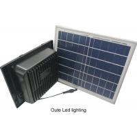 Buy cheap Square Solar Powered Landscape Lights / ABS Solar Security Flood Lights from wholesalers