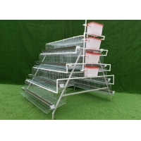 Buy cheap 4 Tiers Hot Dipped Galvanized Automatic Hen Layer Chicken Cage from wholesalers