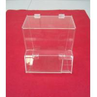 Buy cheap Clear Locking Acrylic Display Cases for Models Custom 6mm 8mm from wholesalers
