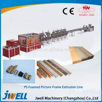 Buy cheap Jwell PS foamed picture frame extrusion line from wholesalers