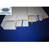 Buy cheap White Electrical PVC Trunking product