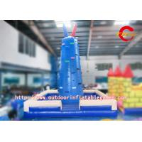 Buy cheap Giant Inflatable Adult Slide Rock Climbing Wall / Inflatable Rock Climbing Wall Rentals from wholesalers