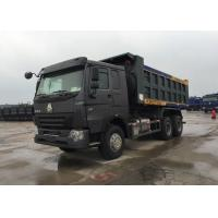 Buy cheap Loading Construction Goods Tipper Dump Truck LHD 371HP 30 - 40 Tons Heavy Dump Truck from wholesalers