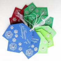 Buy cheap New design jeans paper hang tags from wholesalers
