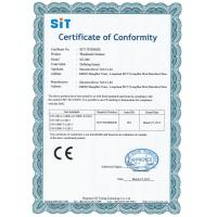 BoweiK Tech Co. Ltd Certifications