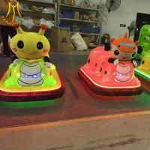 Buy cheap Hansel amusement park plastic battery operated used bumper car ride from wholesalers