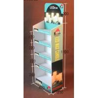 Buy cheap Multi Tier Retail Cardboard Floor Displays,Candle product paper display rack, Withstand weight: 10lbs-20lbs from wholesalers