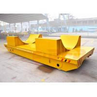 Buy cheap Railway electric flat bed trailer for steel foil coils handling with V-frame from wholesalers