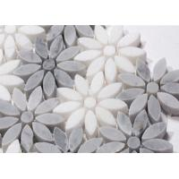 Buy cheap New Best Selling Carrara Stone Flower Marble Pattern Atpalas Mosaics Tiles from wholesalers