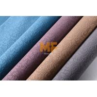 Buy cheap Car Interior / Home Textile 3D Burnout Velvet Curtain Fabric Striped Upholstery from wholesalers