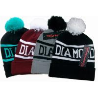 Buy cheap Diamond Hip Hop Knitted Beanie hat Custom Beanie Hats winter knitted hat from wholesalers