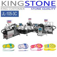 Buy cheap Kingstone Machinery Rotary 3 Color PVC TPR Sole Injection Machine from wholesalers