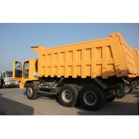 Buy cheap 70 Tons HOWO Mining Tipper Dump Truck 371HP High Strength Steel Cargo Body from wholesalers