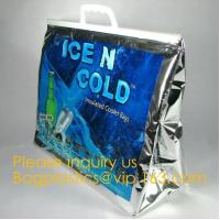 Buy cheap China supplier custom Aluminium foil insulated thermal lunch cooler bag big ice bag for frozen food and lunch bagease from wholesalers