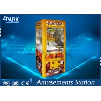 Buy cheap Aluminium Frame Chocolate Box Claw Crane Game Machine Lower Working Consumption from wholesalers
