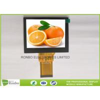 Buy cheap 4.0'' 320x240 Industrial TFT LCD Display Landscape Type With RGB 24 Bit Interface product