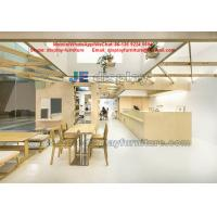 Buy cheap Cake Store Daily necessities Shop Interior design wood display furniture Cash counters from wholesalers