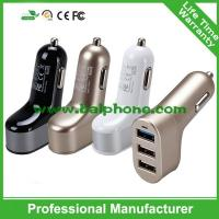 Buy cheap 5V 5.1A 3 port USB Car Charger ,3usb car charger,3usb travel charger for iphone 6 for ipad from wholesalers