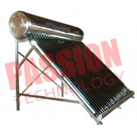 Buy cheap 200L Economical Vacuum Tube Solar Water Heater System Compact Structure from wholesalers