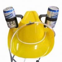 Buy cheap Party Hat/Cowboy Beer Hat, Can Dancing While Drinking, Popular in Pub and Party from wholesalers