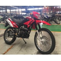 Buy cheap 250cc Wind Cooling 1370mm Wheelbase Dirt Bike Motorcycle from wholesalers