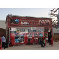 Buy cheap Fiber Glass Material 5D Movie Theater with Pneumaitc / Hydraulic / Electric System product